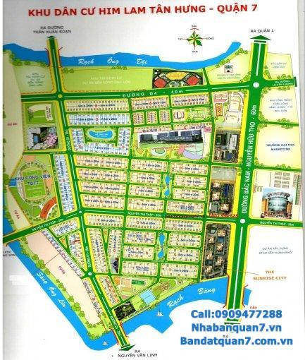 Cần bán đất khu tái định cư Him Lam quận 7