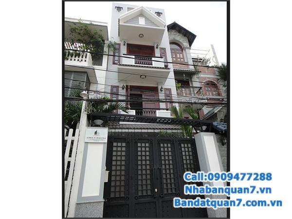 Cần bán nhà mặt tiền đường Tân Mỹ, phường Tân Thuận Tây, q7