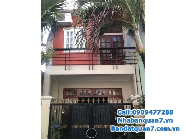 Bán nhà HXH 8m Kiều Đàm, Phường Tân Hưng, Quận 7