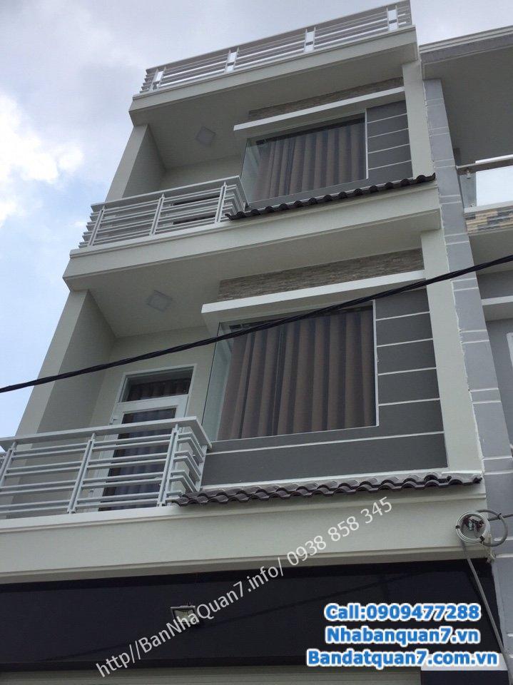 Bán nhà phường Tân Quy, diện tích 6x21m, giá 12,5 tỷ, LH 0909.477.288