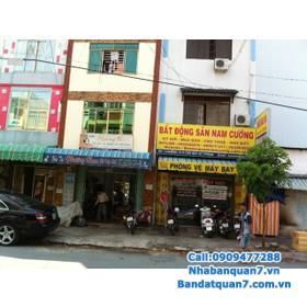 Bán nhà mặt tiền đường số P.Tân Quy, Quận 7. DT:5x22m nhà rất đẹp 1 trệt 2 lầu 1  sân thượng