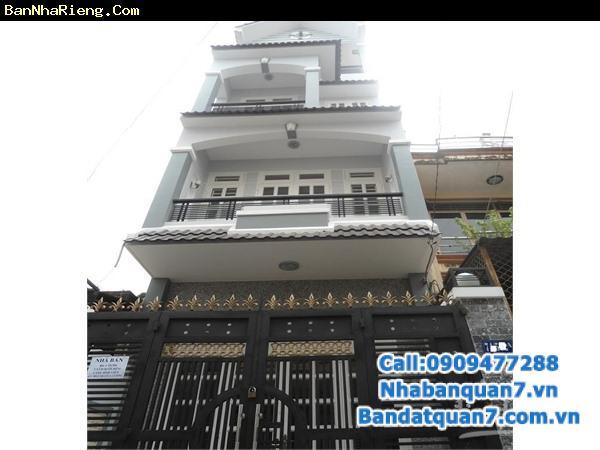 Bán nhà khu Him Lam Kênh Tẻ mặt tiền đường 35m giá 15.5 tỷ