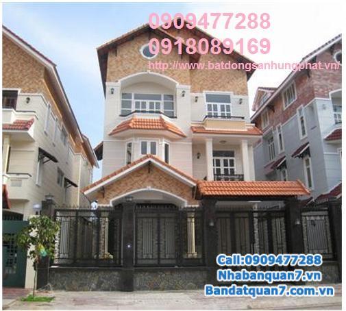 Bán nhà Him Lam quận 7, giá cả hợp lý Lh 0909477288