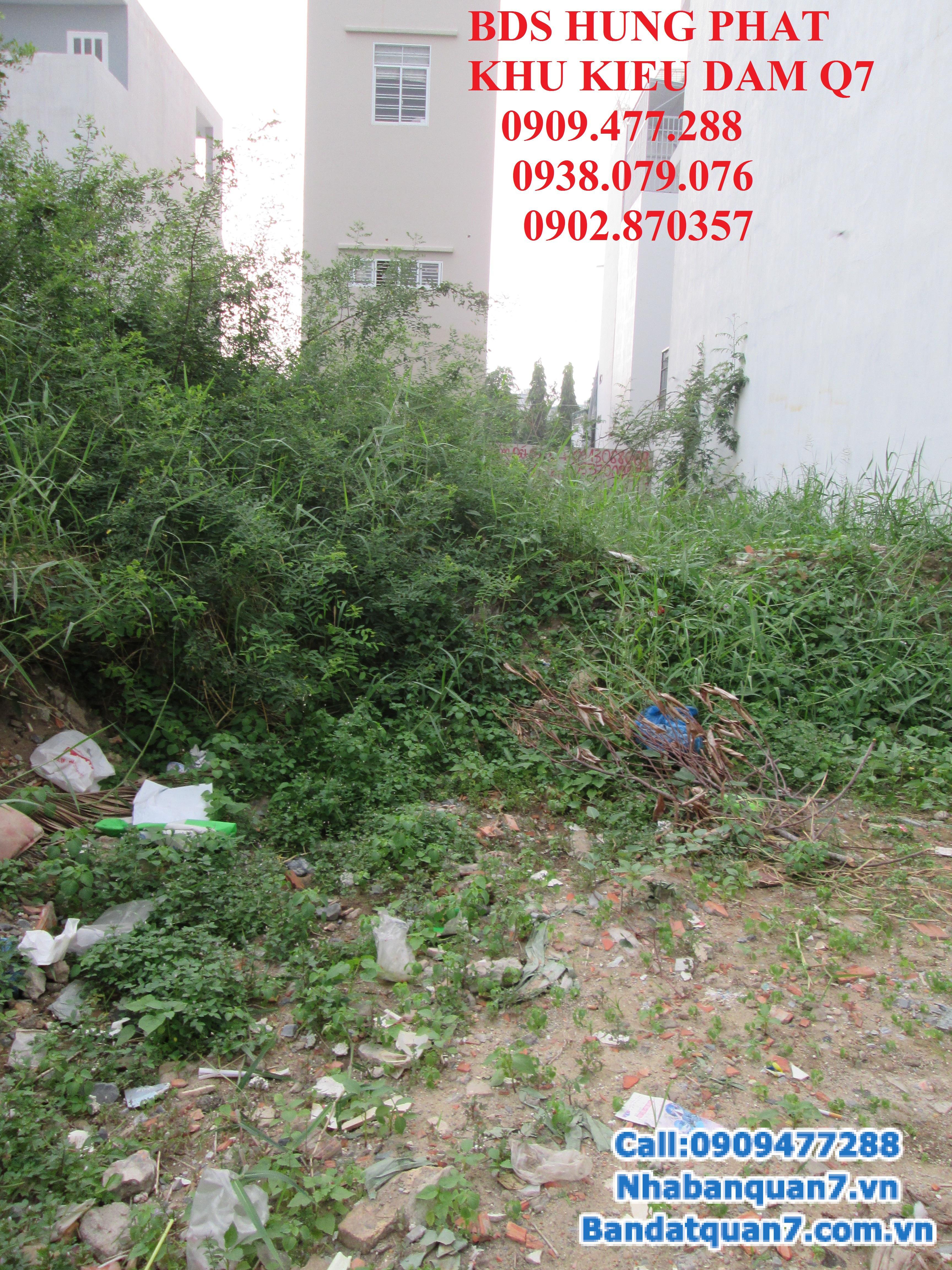 Bán lô đất Kiều đàm, phường Tân hưng, quận 7