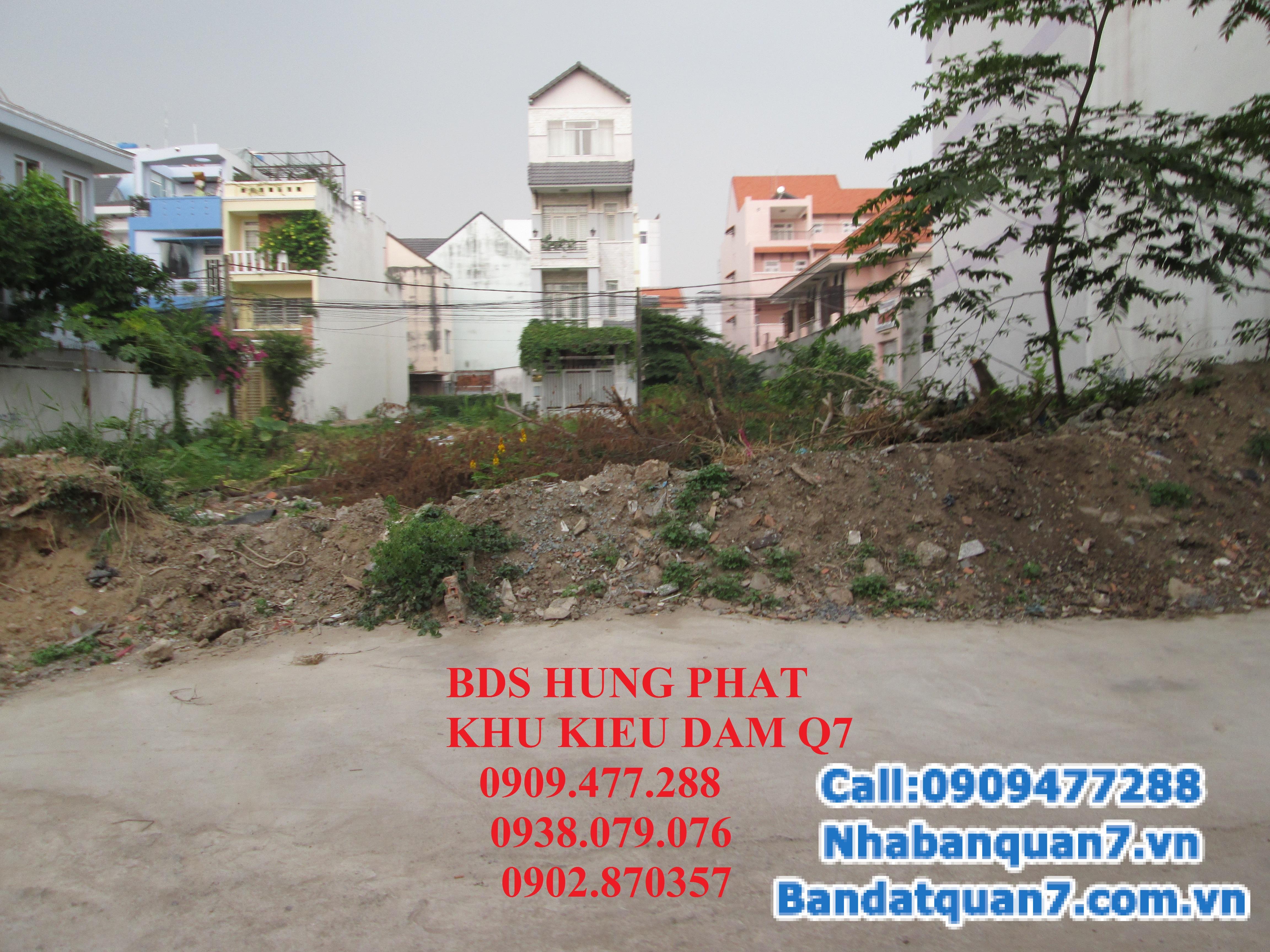 Tổng hợp đất nền nhà phố khu Kiều Đàm, quận 7. Giá tốt nhất thị trường. 5,4 x 15,2m, 3.3 tỷ