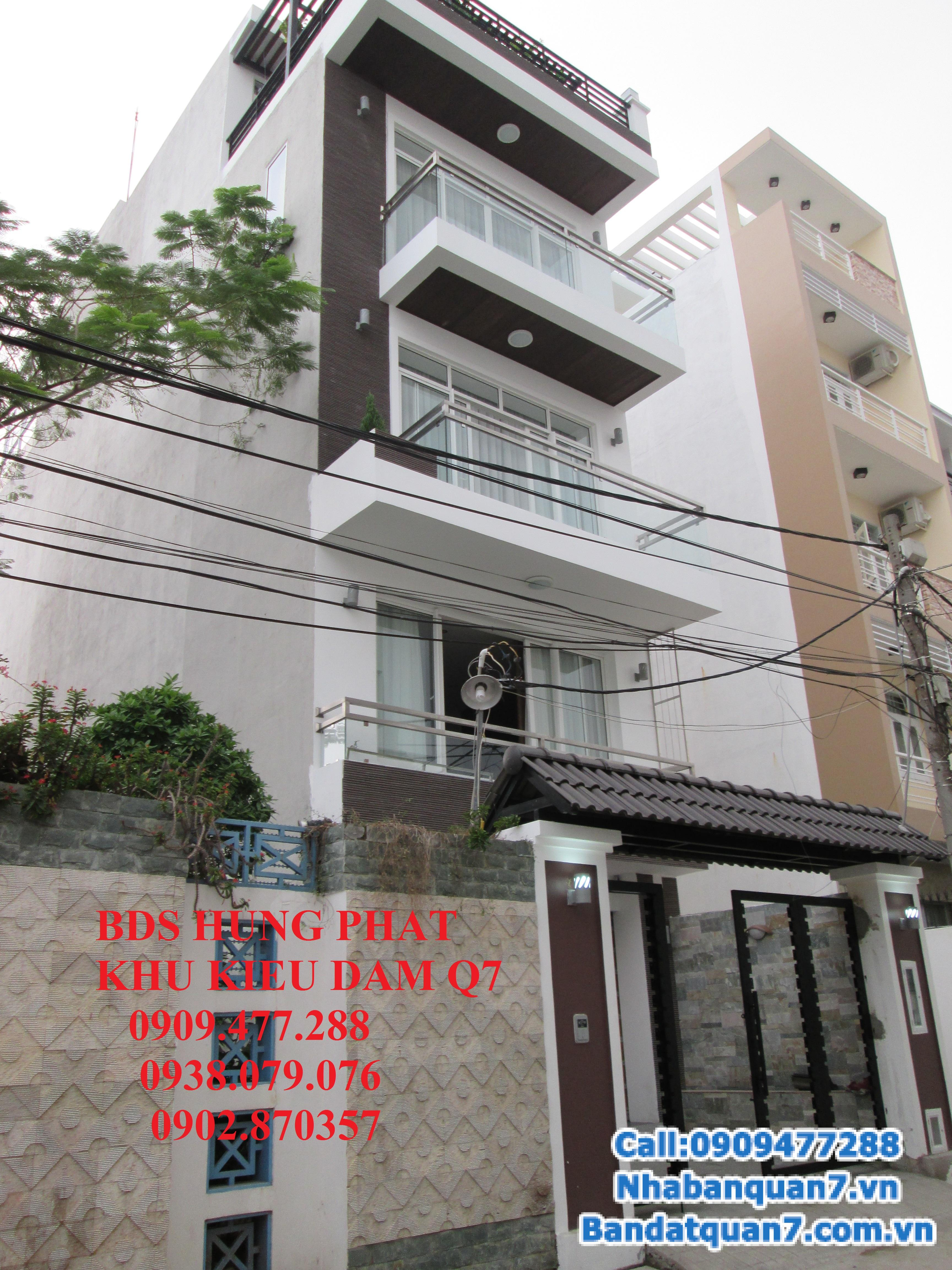 Cần bán căn nhà kiều đàm 793 Trần Xuân Soạn, P.Tân Hưng, Q.7