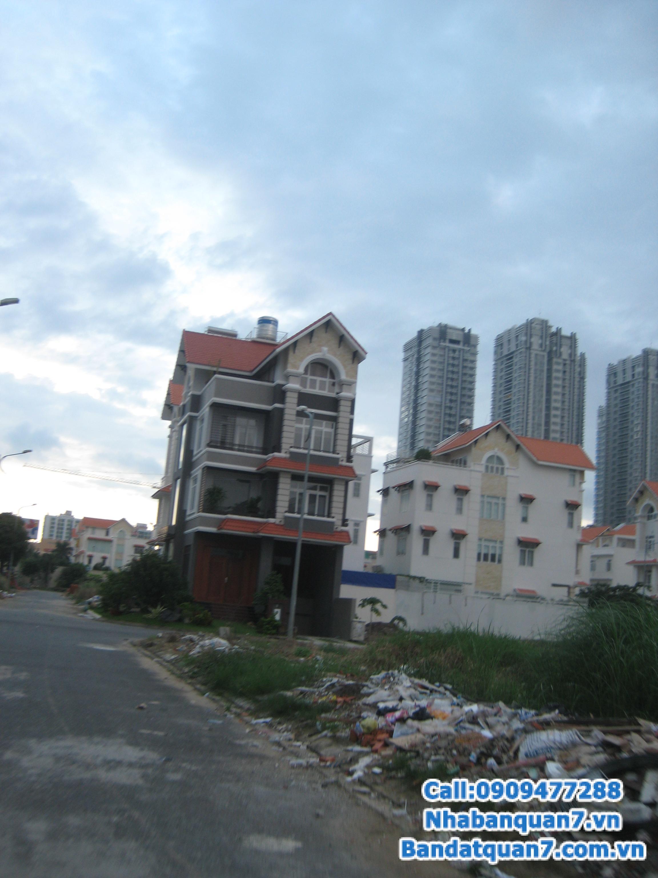 Bán nhiều lô đất biệt thự Him Lam Kênh Tẻ quận 7, DT 10 x 20m, giá 65 triệu/m2