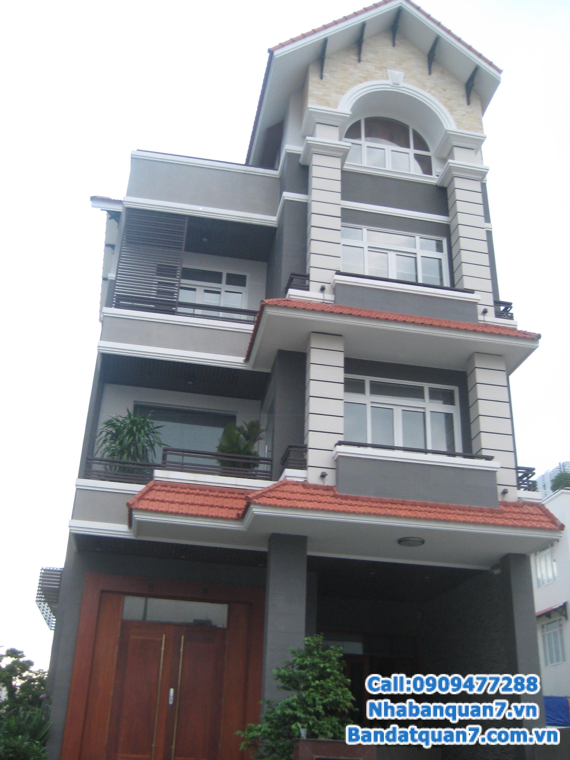 Bán nhà KDC Him Lam Kênh Tẻ Quận 7, mặt tiền đường D1, lô O2, diện tích 5x20m. Giá 16.5 tỷ.