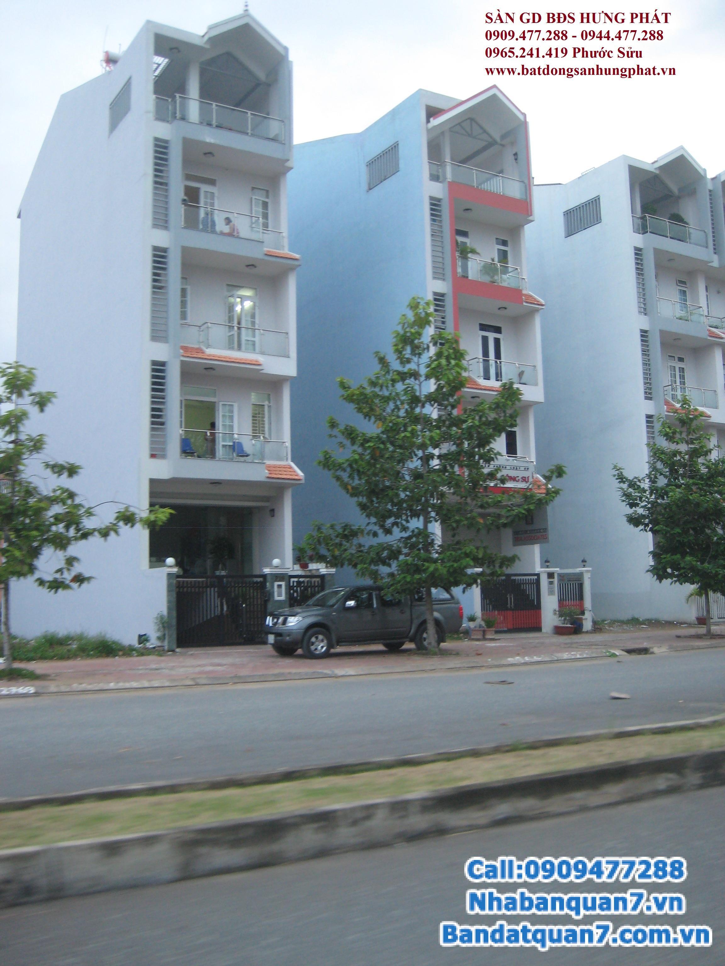 Cần bán đất khu tái định cư Him Lam quận 7, lô G