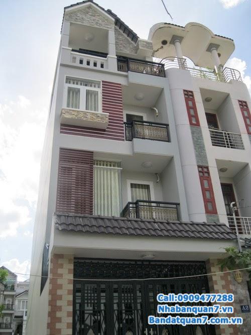 Bán nhà mặt tiền khu Him Lam Quận 7, 15x20m, 1014.4m2.