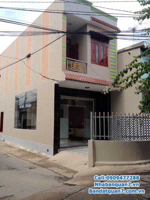 Cho thuê hoặc bán nhà hẻm Lê Văn Lương P. Tân Hưng Q7