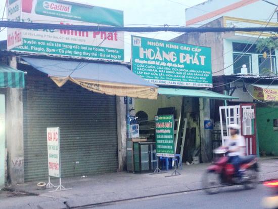 Bán nhà mặt tiền quận 7 đường Lê Văn Lương F. tân Kiểng