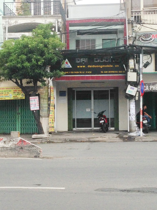 Bán nhà mặt tiền quận 7 đường Huỳnh Tấn Phát Quận 7