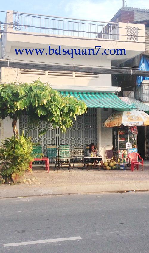 Bán nhà quận 7 mặt tiền đường Trần Xuân Soạn Quận 7