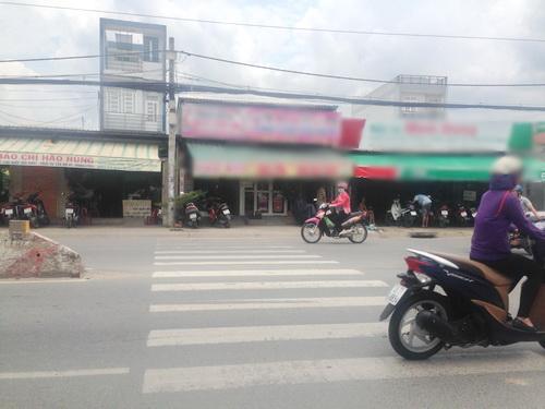 Bán nhà mặt tiền quận 7 đường Huỳnh Tấn Phát  F. Tân Phú