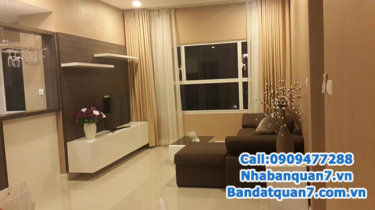 Bán căn hộ sunrise city north 56.95 m2 nội thất đính tường
