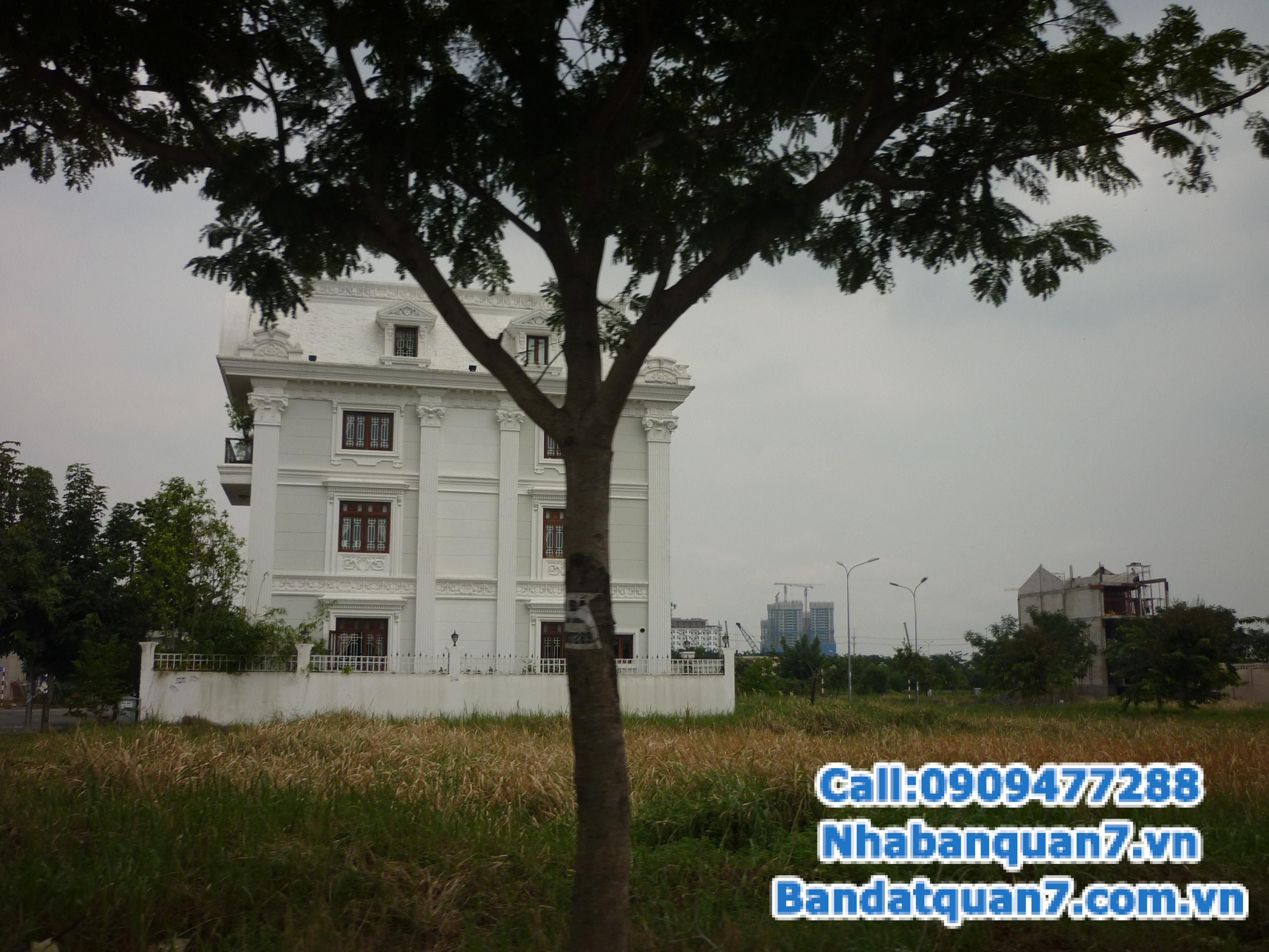 Cần bán nhanh lô đất Ven Sông Tân Phong Q7