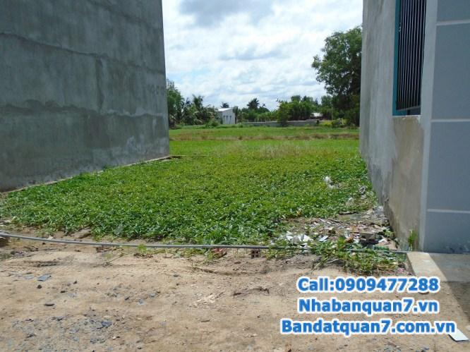 bán đất kim sơn đường thông ra lê văn lương thuộc căn góc  DT: 5x20, sổ đỏ, hệ thống đường, điện, nước xong,