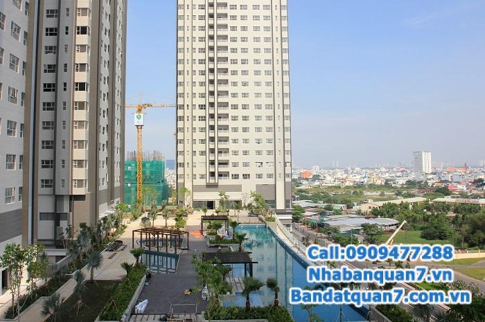 Bán Sunrise city DT 125m2; tầng 9 view trực diện hồ bơi, tầng cao, giá 4 tỷ