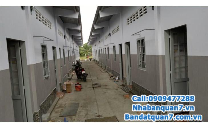 Bán 2 dãy nhà trọ đường số, P.Bình Thuận, 12x22m, hướng nam