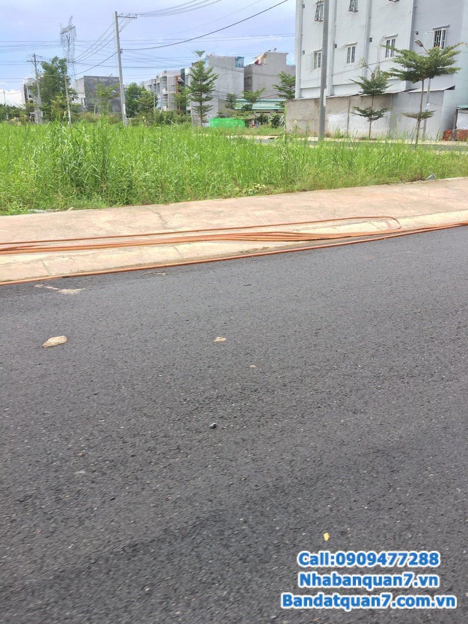 Bán lô đất Khu Dân Cư Nam Long phường phú thuận q7