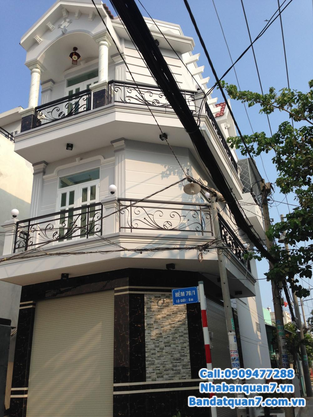 Bán nhà 4x13m 1 trệt 2 lầu, sạch đẹp, an ninh tốt, hướng Đông Bắc khu Kiều Đàm
