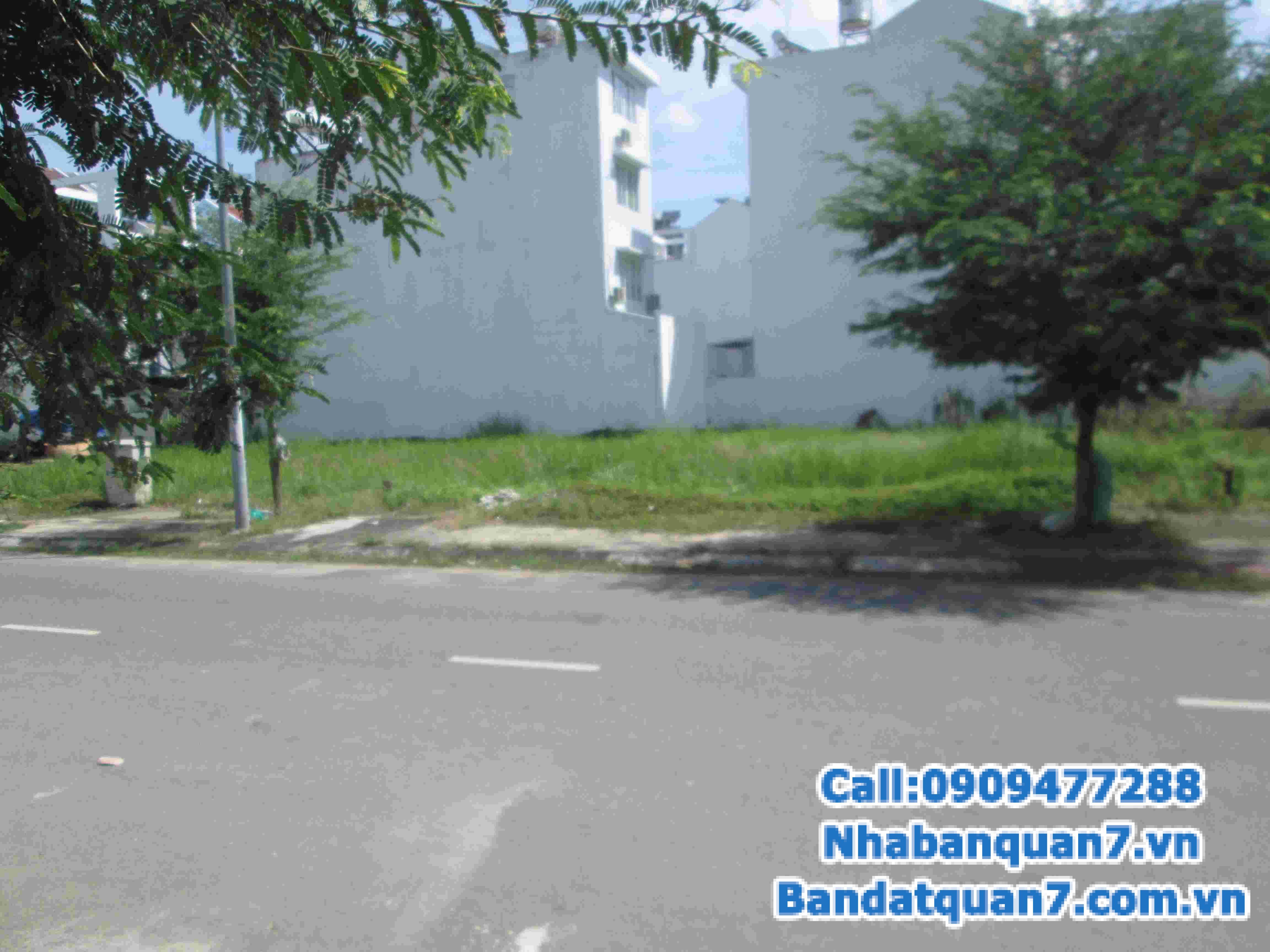 Bán đất mặt tiền đường 73 cắt Nguyễn Thị Thập