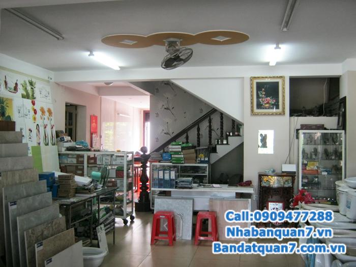 Cho thuê nguyên căn nhà mặt tiền Mặt tiền đẹp quận 7 phường Tân Quy,