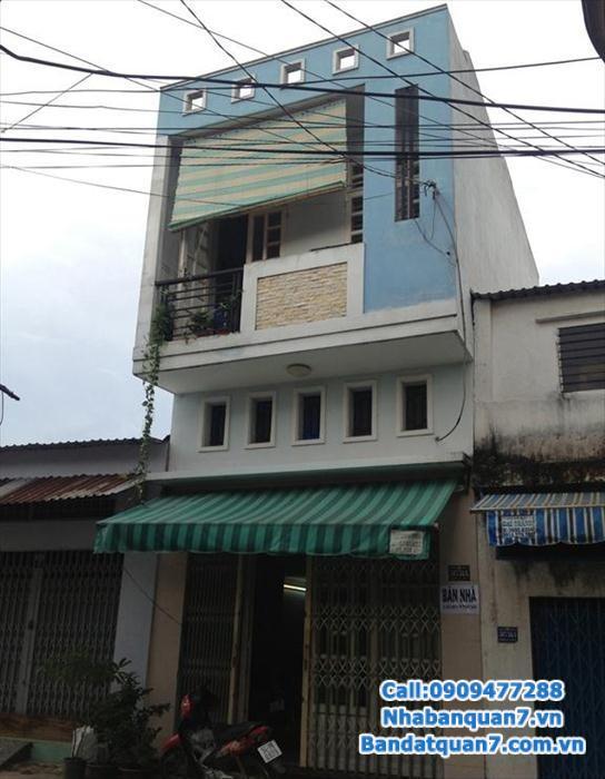Cần bán nhà phố Him Lam Kênh Tẻ Q7, 5x20m, mặt tiền D1 35m