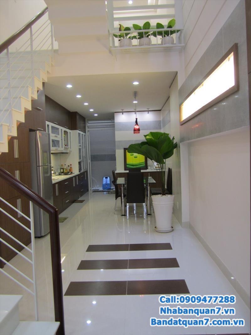 bán đất, bán nhà, Cho thuê nhà khu kiều đàm phường tân hưng q7