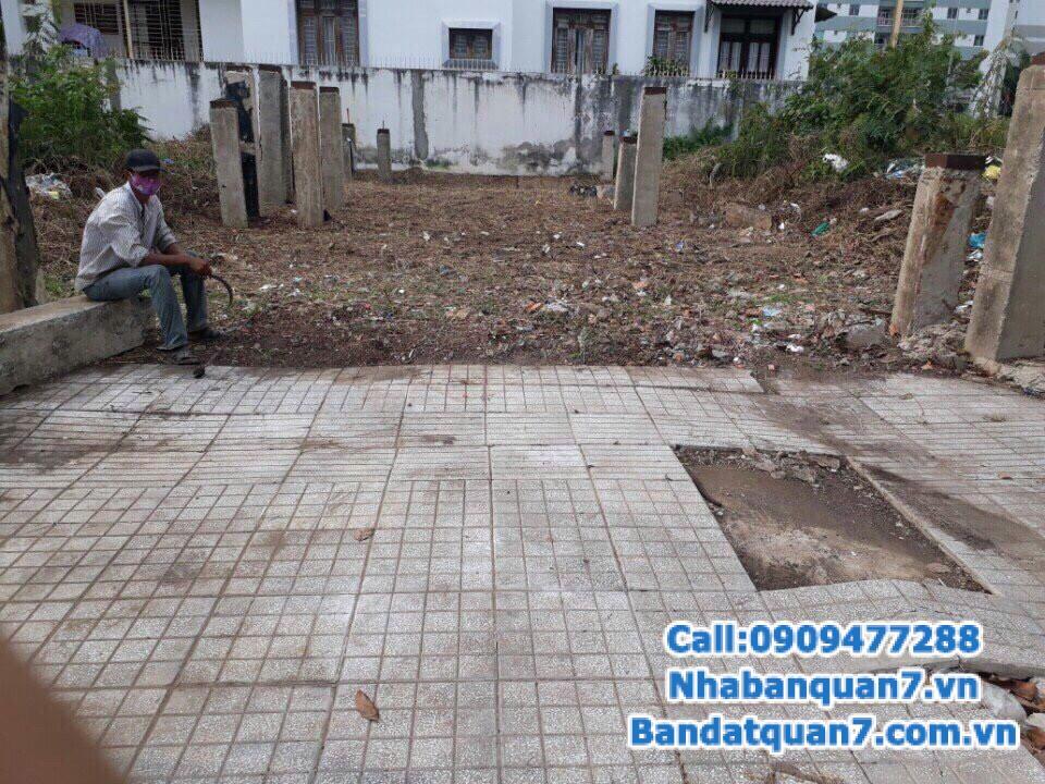 Bán đất  công ích quận 4 phường Phú Mỹ, dt 7x19m, giá tốt để đầu tư. LH 0909.477.288