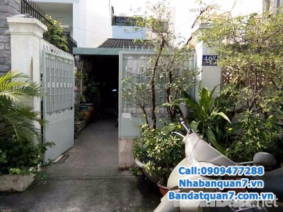 Bán nhà cấp 4 đường số 9 cư xá ngân hàng, giá 6 tỷ, LH 0909477288 để xem nhà
