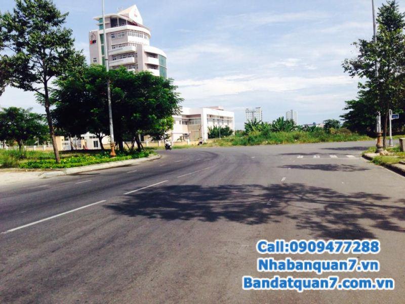 Cần bán đất DT 7x20m An Phú Hưng hướng đông nam, công viên bờ sông, Tân Phong, Q7, đường số 25