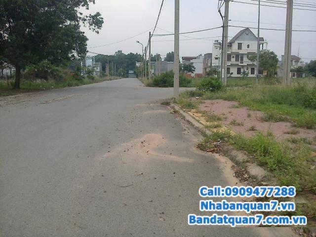 Bán đất nền dự án An Phú Hưng, Q7 65tr/m2