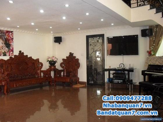 cần bán gấp BT cao cấp 2 mặt tiền KDC Tân Quy Đông q7, gần Nguyễn Thị thập, giá 15,5 tỷ tặng NT