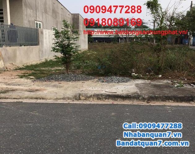 bán gấp  tái định cư Phú Mỹ quận 7, giá 43tr/m2, dt 5x18 Lh 0909477288