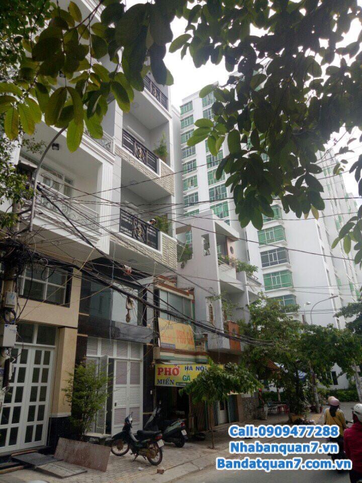 Mua bán nhà đất quận 7, diện tích 4x20m, giá 9.2 tỷ, LH 0909477288