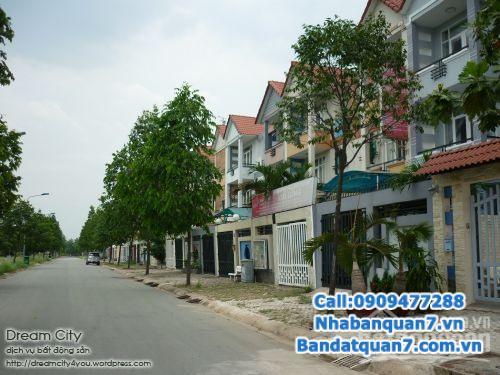Bán nhà mới đẹp sổ hồng KDC An Phú Hưng, P. Tân Phong, Q7, gồm PK, phòng bếp, 4 PN, 5 WC, phòng thờ, sân trước, sân sau,...
