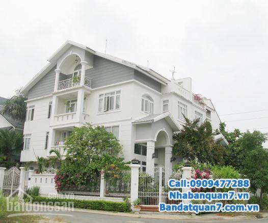 Cần bán biệt thự đẹp, nội thất sang trọng khu Him Lam Kênh Tẻ, phường Tân Hưng, Quận 7