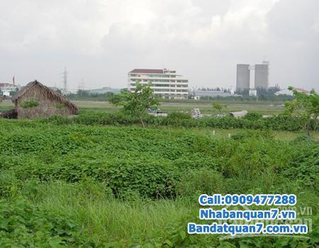 Ban đất ven sông Tân phong QUẬN 7