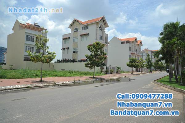 Bán lô đất biệt thự 10x20m, hướng nam - G48 mặt tiền Nguyễn Thị Thập KDC Him Lam Quận 7