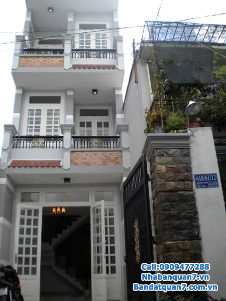 Nhà phố 4,1x25m 1 trệt 1 lầu mặt tiền đường số Lâm Văn Bền cực đẹp 7.5 tỷ