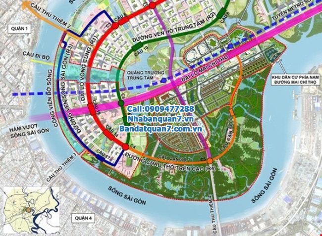 TP. HCM 8700 tỉ di dời Cảng Tân Thuận và xây cầu Thủ Thiêm 4.