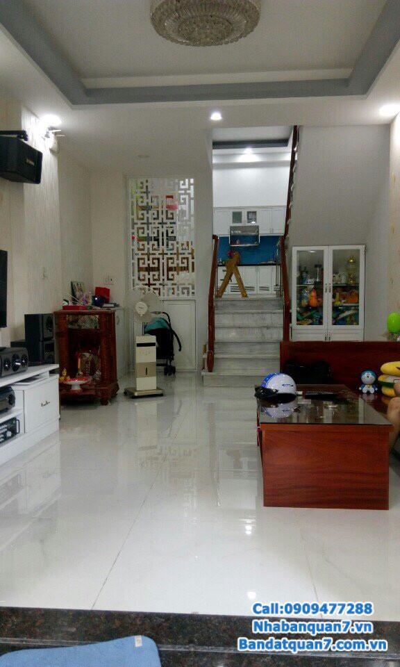 Bán nhà khu Kiều Đàm, dt 4x21m, nhà đẹp giá rẻ LH 0909.477.288
