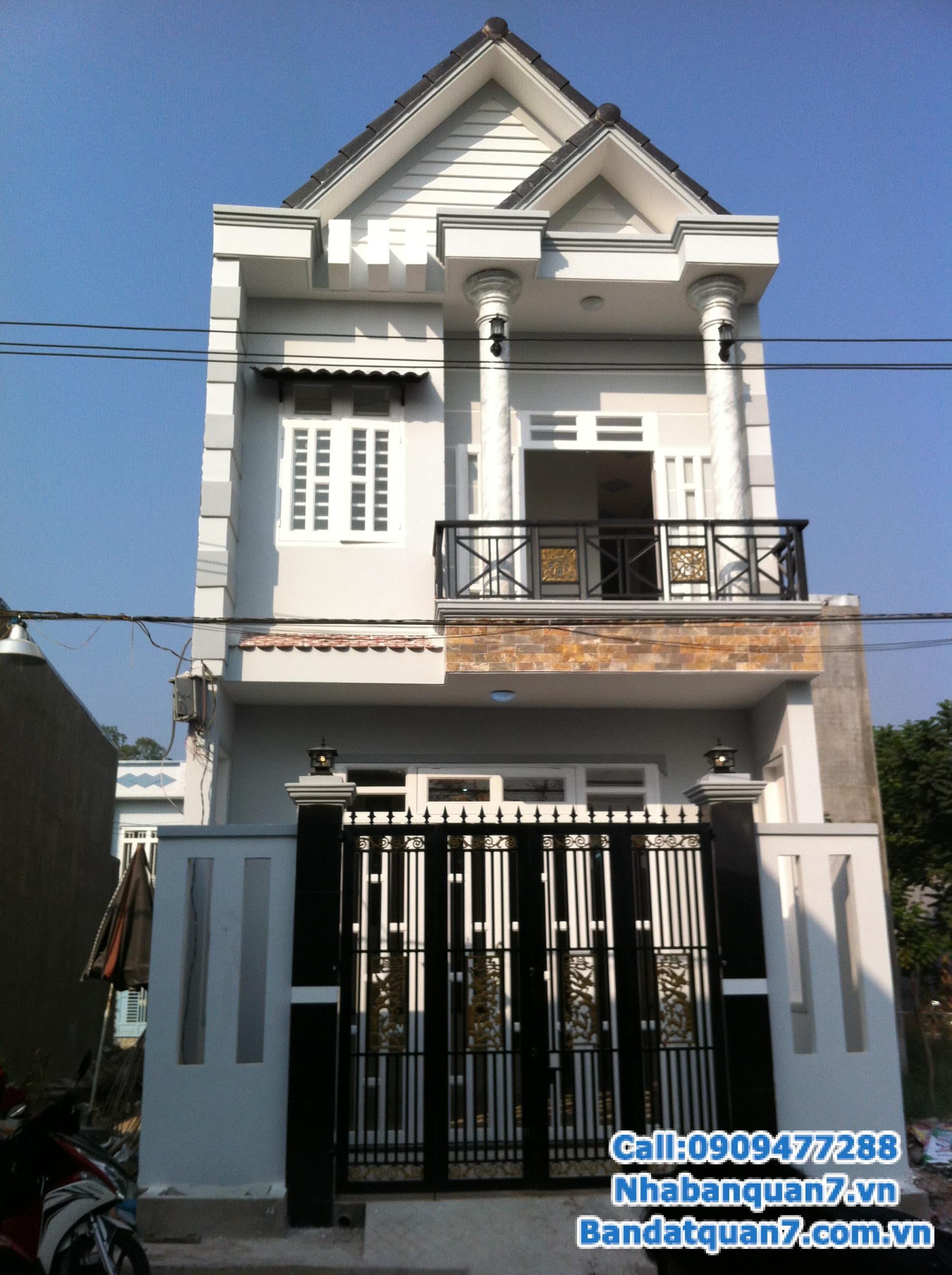 Cần bán gấp nhà hẻm 4m Bùi Văn Ba, p. Tân Thuận Đông, Quận 7