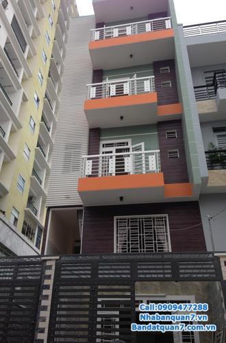 Bán nhà trọ quận 7,đường Huỳnh Tấn Phát,phường Tân Phú.DT 6x30=180m2.