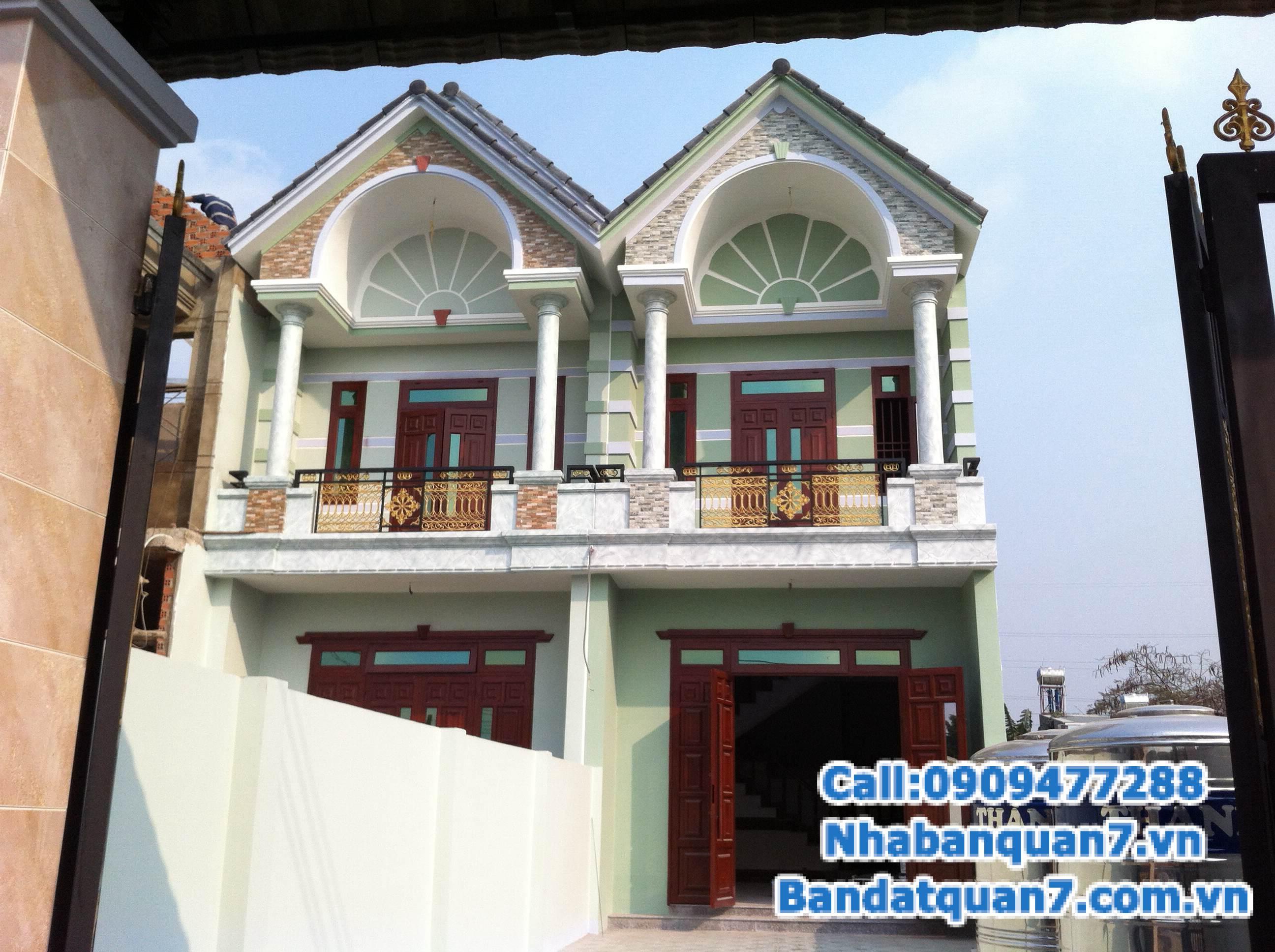 Bán nhà Quận 7 khu dân cư Tân Quy Đông