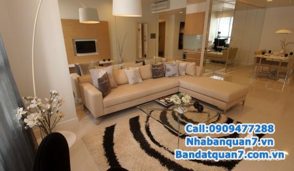 Cần bán gấp CH Sunrise City 99m2, nội thất đầy đủ, giá rẻ 4 tỷ -