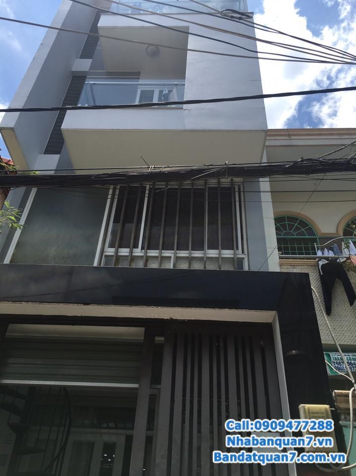 Bán nhà hẻm 861 Trần Xuân Soạn,4x15m giá 4,15 tỷ. Lh 0909477288