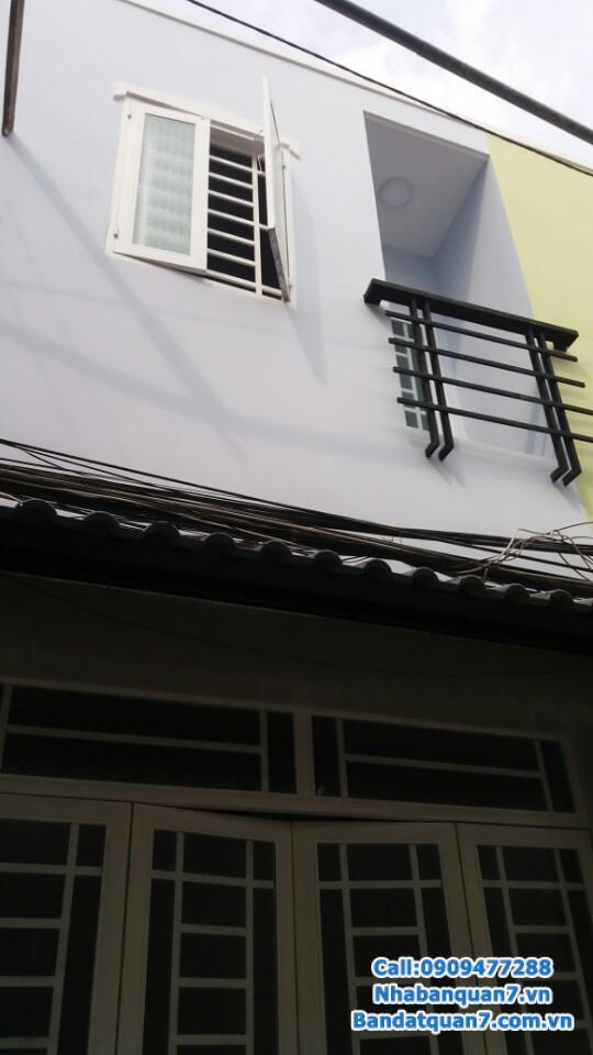 Bán nhà hẻm Lâm Văn Bền, dt 3x6m, giá 900 triệu, LH 0909.477.288